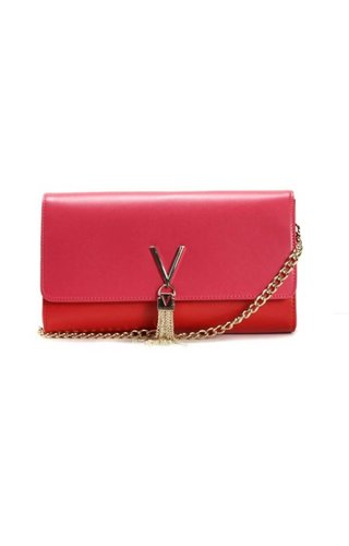 Valentino Handbags Divina Sa Clutch Red/Pink