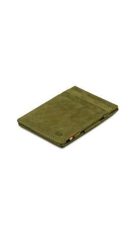 Garzini Magic Wallet Olive Green