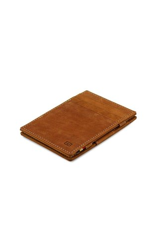 Garzini Magic Wallet Camel Brown