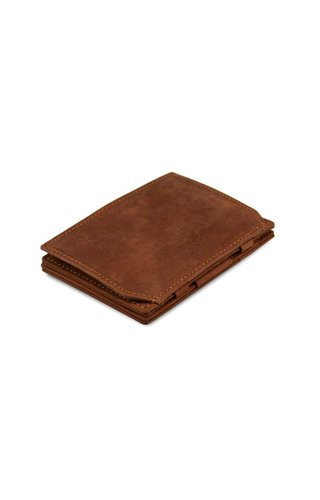 Garzini Magic Wallet Coin Pocket Java Brown