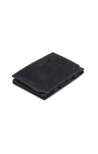 Garzini Magic Wallet Coin Pocket Carbon Black