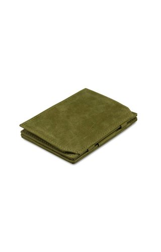 Garzini Magic Wallet Coin Pocket Olive Green