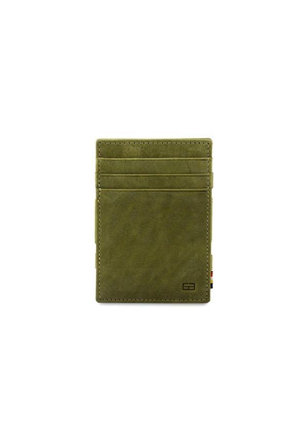 Magic Wallet Coin Pocket Olive Green