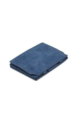 Garzini Magic Wallet Coin Pocket Sapphire Blue