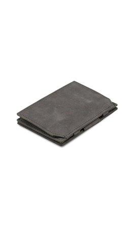 Garzini Magic Wallet Coin Pocket Metal Grey