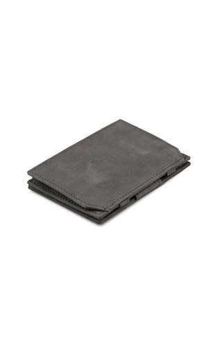 Garzini Magic Wallet Coin Pocket Metal Grey