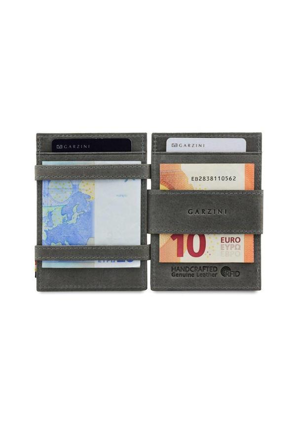 Magic Wallet Coin Pocket Metal Grey