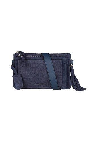 Burkely Festival Hip Bag Zip Blauw