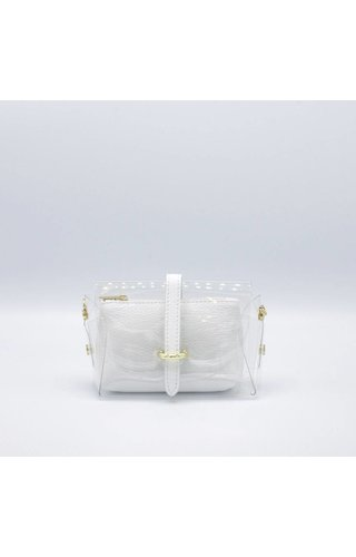 IT BAGS Transparent Bag White