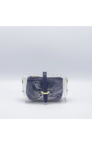 IT BAGS Transparent Bag Blue