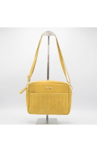 IT BAGS Schoudertas Suede Dots Ocher