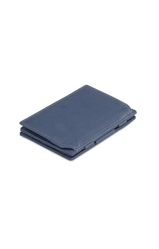 Garzini Magic Wallet Coin Pocket Nappa Navy