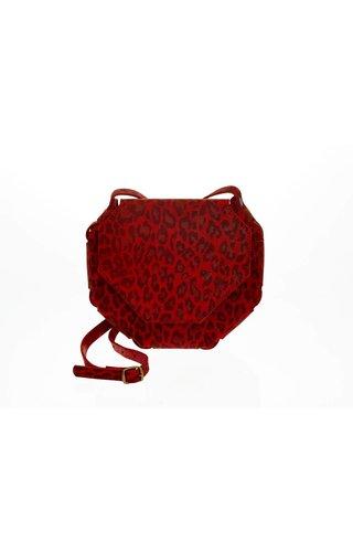 Elvy Sia Print Red