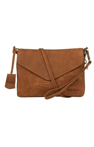 Burkely Hunt Hailey X-Over S Flap Cognac