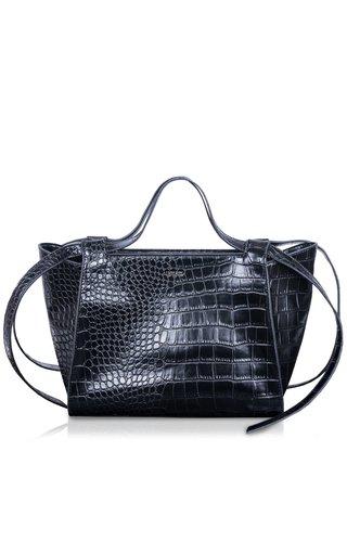 Inyati Camille handbag croco black