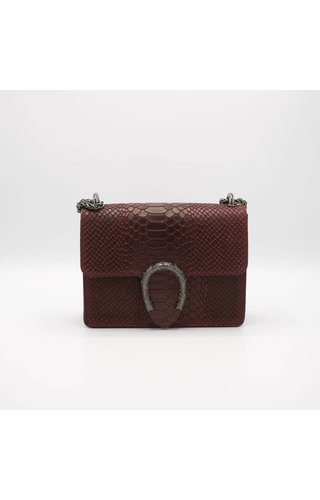 IT BAGS Little inspired bag croco bordeaux