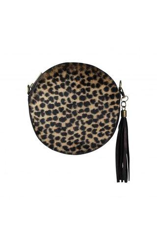 Baggyshop Round & Wild Leopard