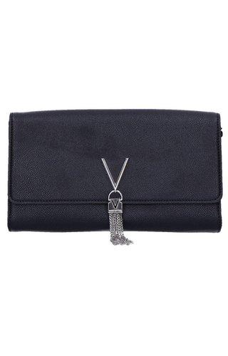 Valentino Handbags Divina Clutch Big Black