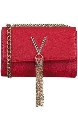 Valentino Handbags Divina Schoudertasje Rood