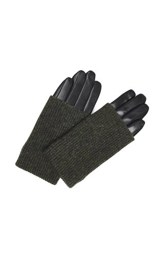 MarkBerg Helly Glove Black/Green mt 7,5