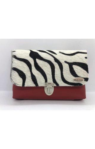 Bella Colori Zebra Rood