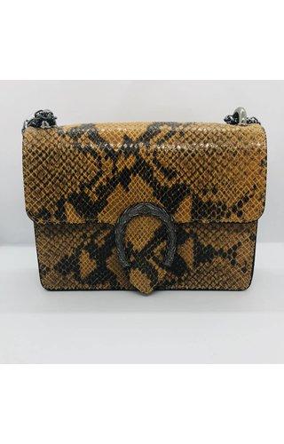 IT BAGS Little inspired bag snake Oker