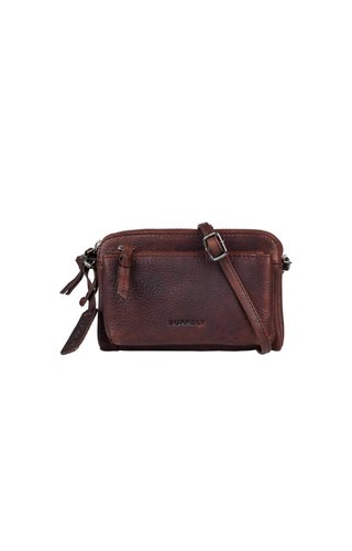Burkely Anitque Avery Mini Bag Donkerbruin