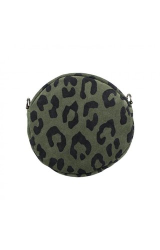 Baggyshop Round & Army Groen
