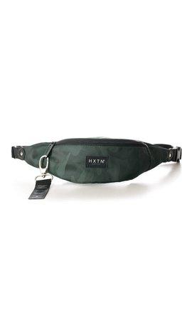 HXTN Prime Bum Bag Camo Green