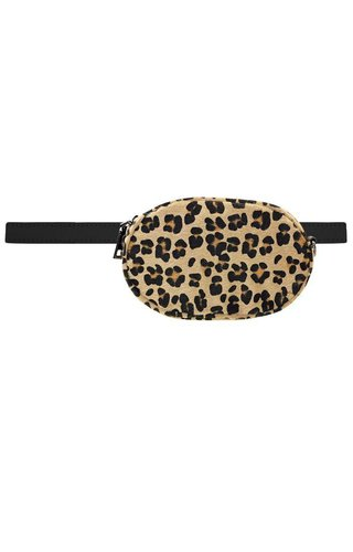My Jewellery Round bumbag leopard