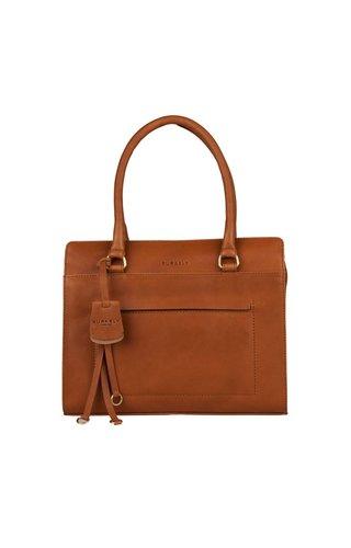 Burkely Sylvie Star Handbag S Cognac