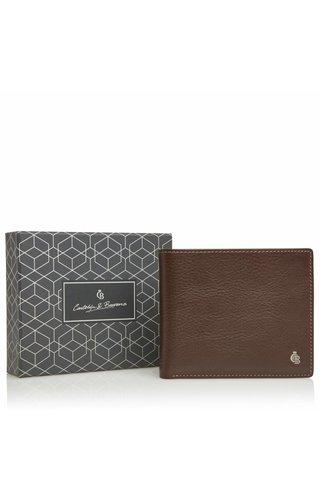 Castelijn & Beerens Giftbox Billfold RFID Mocca