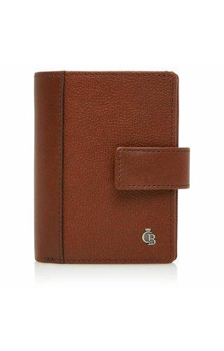 Castelijn & Beerens Vivo RFID Creditcard etui geldvak Cognac