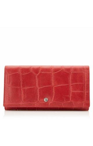 Castelijn & Beerens Cocco RFID Dames portemonnee Rood