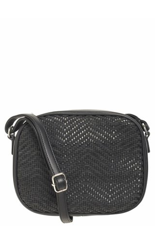 Pieces Bitten Crossbody Black