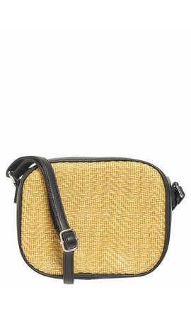 Pieces Bitten Crossbody Lemon Chrome