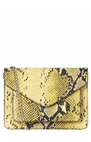 Pieces Bina Crossbody Lemon Chrome