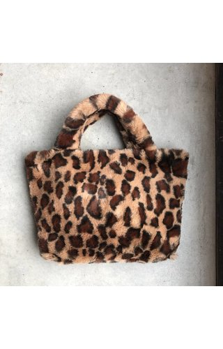 IT BAGS Furry Handbag Beige