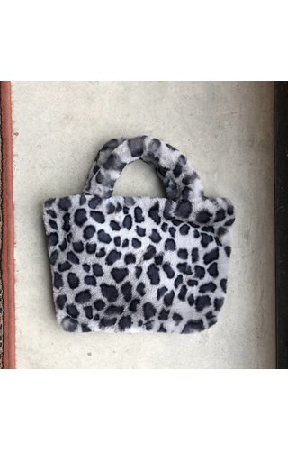 IT BAGS Furry Handbag Grijs