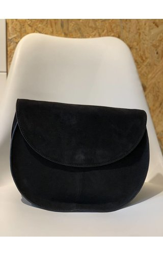 Pieces Sedona Suede Crossbody Black