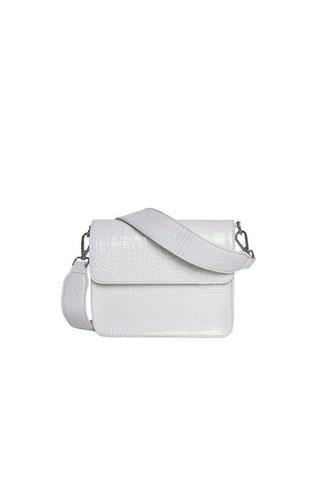 Hvisk Cayman Shiny Strap Bag White