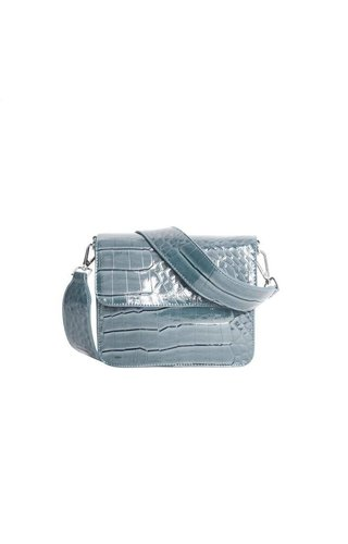 Hvisk Cayman Shiny Strap Bag Baby Blue