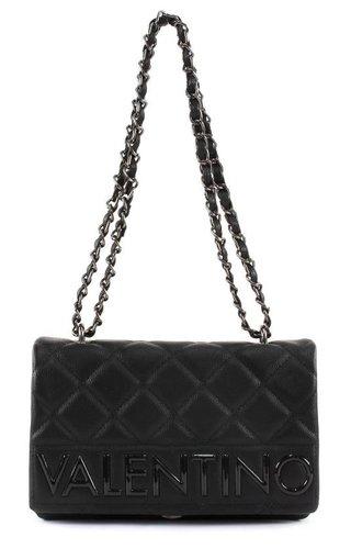 Valentino Handbags Licia Satchel Black