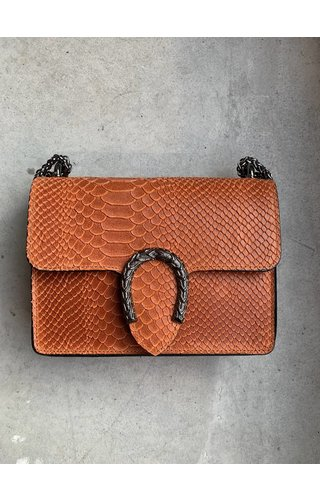 IT BAGS Little inspired bag croco burnt orange
