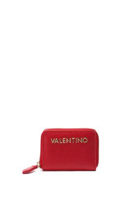 Valentino Handbags Divina Coin Purse Rosso