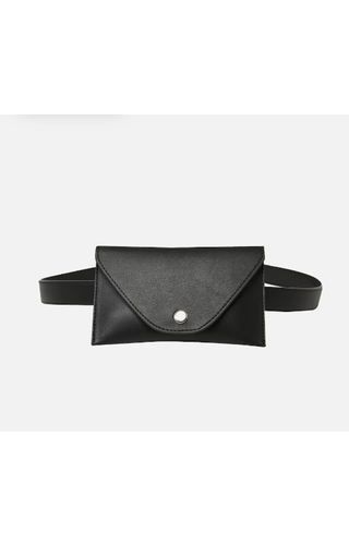 Pieces Cindy Belt Bag Black
