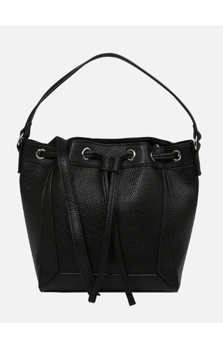 Pieces Balbina Bucket Black