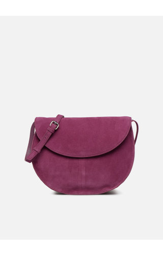 Pieces Sedona Suede Crossbody Dark Purple