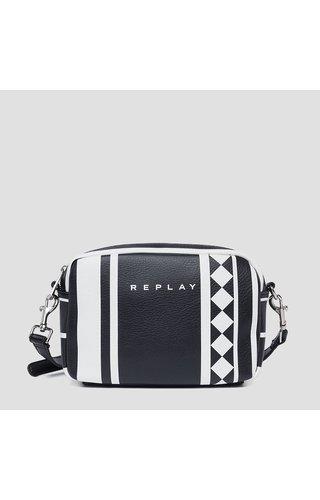 Replay Black Optical Shoulderbag