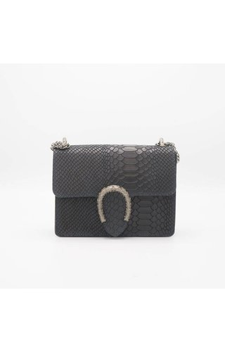 IT BAGS Little Inspired bag croco navy